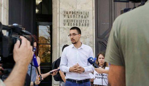 Studenti: Rokovi za sastanak sa rektorkom Beogradskog univerziteta oko problema školarine prošli 6