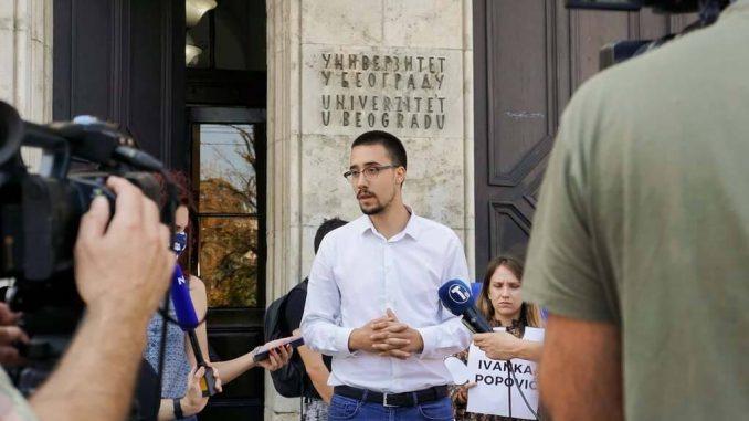 Studenti: Rokovi za sastanak sa rektorkom Beogradskog univerziteta oko problema školarine prošli 3