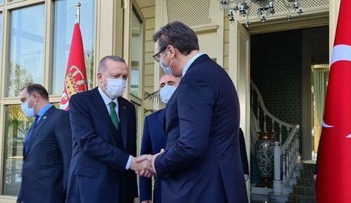Vučić sa Erdoganom o infrastrukturnim projektima i bilateralnim odnosima 3