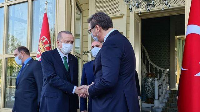 Vučić sa Erdoganom o infrastrukturnim projektima i bilateralnim odnosima 1