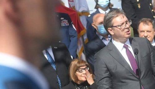 Za Vučića poruka i fotografija patrijarha Pavla 6