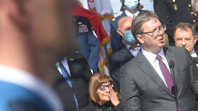 Za Vučića poruka i fotografija patrijarha Pavla 2