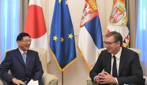 Ambasador Japana u oproštajnoj poseti kod predsednika Srbije 7