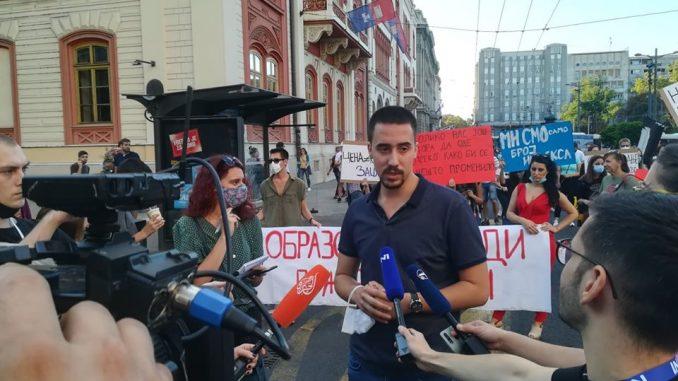 Studenti: Moguće kampovanje ispred Vlade Srbije 1