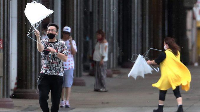 Japanska vlada izdala nalog da se sklone ljudi iz područja najugroženijih olujom 5