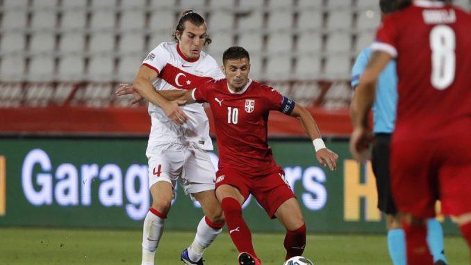 Reprezentacija Srbije pala na 31. mesto rang-liste Fifa 3