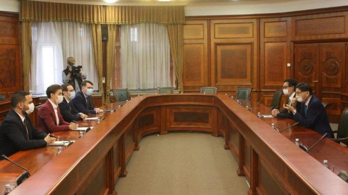 Ambasador Japana u oproštajnoj poseti kod Ane Brnabić 3