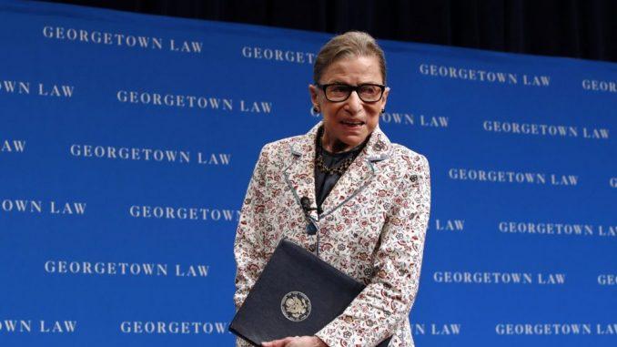 Telo sudije Rut Bejder Ginsburg biće izloženo u Vrhovnom sudu zatim u Kongresu 2