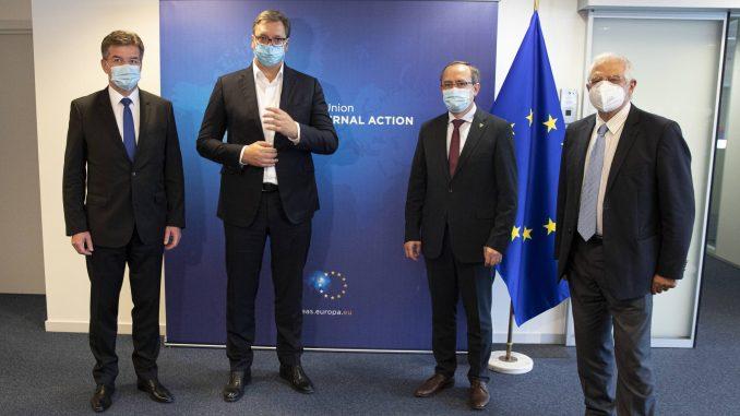 Izvori EU: Nema razloga da smena u Vašingtonu utiče na dijalog Beograda i Prištine 2