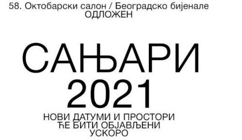 Oktobarski salon odložen za leto 2021. 14