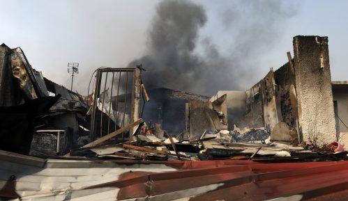 Hiljade domova blizu Atine evakuisane zbog velikog požara 7