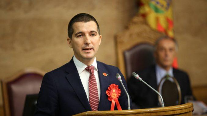 Aleksa Bečić izabran za predsednika parlamenta Crne Gore 2