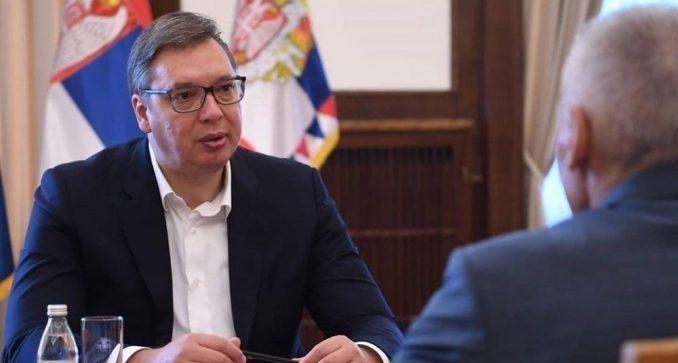 Vučić sa ruskim ambasadorom razgovarao o toku dijaloga Beograda i Prištine 2