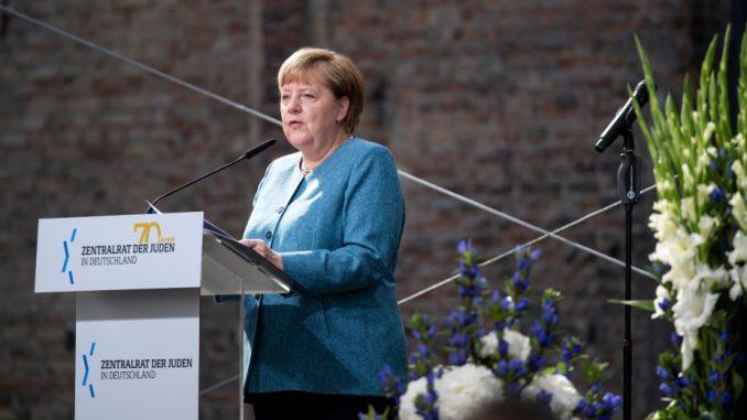 Merkel osudila sramotu oživljavanja antisemitizma na 70. godišnjicu jevrejske grupacije 3