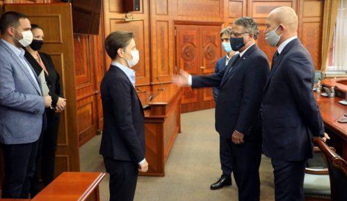 Brnabić sa ambasadorom Češke: Odnosi dve zemlje čvrsti i stabilni 12