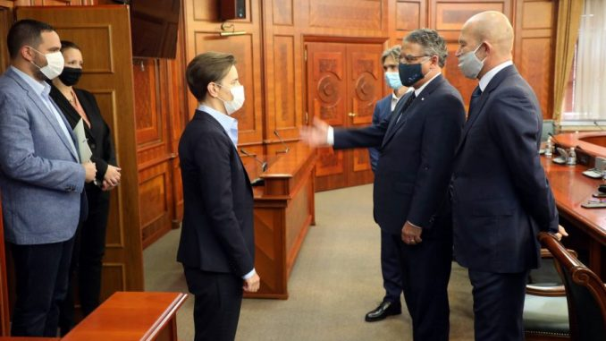 Brnabić sa ambasadorom Češke: Odnosi dve zemlje čvrsti i stabilni 4
