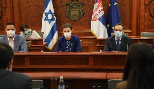 Brnabić: Unaprediti saradnju sa Izraelom 6