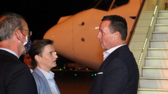 Grenel stigao u Beograd, dočekala ga premijerka Brnabić 3