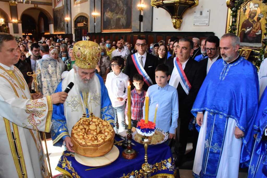 Crkva Rođenja Presvete Bogorodice u Zemunu obeležila 240 godina postojanja 2