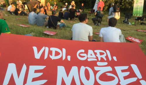 "Trbina u NS: ""Vidi, Gari, ne može!""(VIDEO, FOTO) 9"