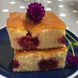 Pom poms - brzi kolač sa malinama (recept) 13