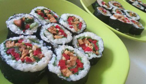 Vege recept: Veganski suši 7