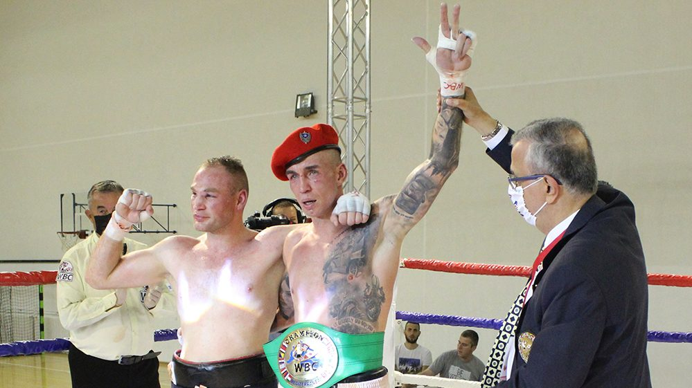 Marko Nikolić odbranio titulu WBC šampiona Mediterana 1