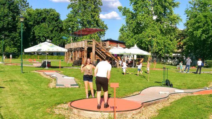 Turnir u mini-golfu na Adi Ciganliji 12. i 13. septembra 2