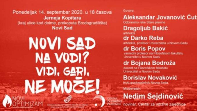"Tribina o štetnosti projekta ""Novi Sad na vodi"" (VIDEO) 1"