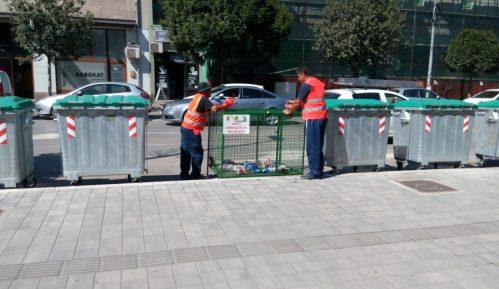 Obnavljaju žičane kontejnere za plastičnu ambalažu u Pirotu 11