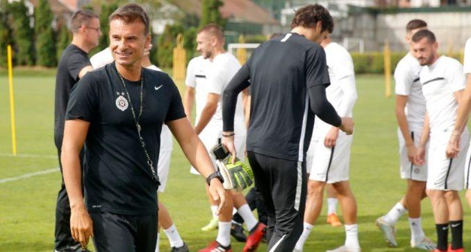 Novi trener Partizana Aleksandar Stanojević nema mnogo vremena za popravku rezultata 4