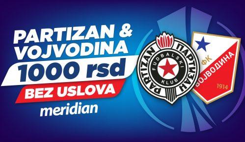 Partizan i Vojvodina napadaju Evropu – Meridian te časti sa 1.000 RSD bonusa 4
