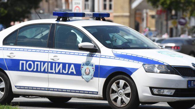 Hapšenje zbog napada na saobraćajnog policajca kod Lazarevca 1