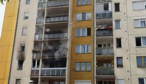Požar u centru Pirota, povređene dve osobe 1