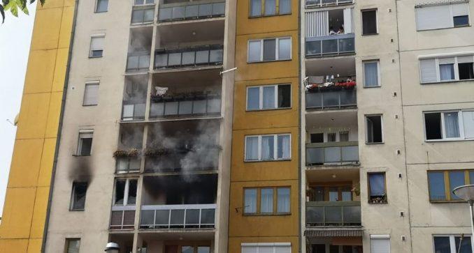 Požar u centru Pirota, povređene dve osobe 5