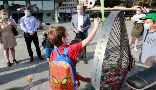 """Gradonačelnik pokrenuo kampanju """"Pešači i recikliraj"""" 7"""