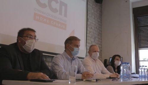 Đilas: Vlast u Boru organizovala protest, predstavnici SSP zabranjeno da govori 3