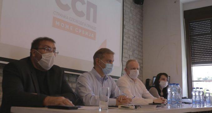 Đilas: Vlast u Boru organizovala protest, predstavnici SSP zabranjeno da govori 2