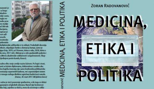 """Promocija knjige """"Medicina, etika i politika"""" 30. septembra u beogradskom CZKD-u 2"""