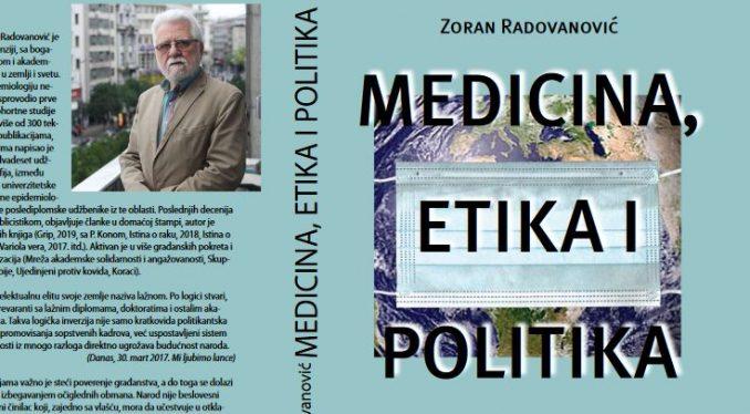 Promocija knjige epidemiologa Radovanovića 21. septembra u Kragujevcu 3