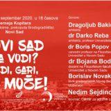 """Tribina """"Novi Sad na vodi? Vidi, Gari, ne može!"""" 14. septembra u Novom Sadu 11"""