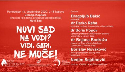"""Tribina """"Novi Sad na vodi? Vidi, Gari, ne može!"""" 14. septembra u Novom Sadu 13"""