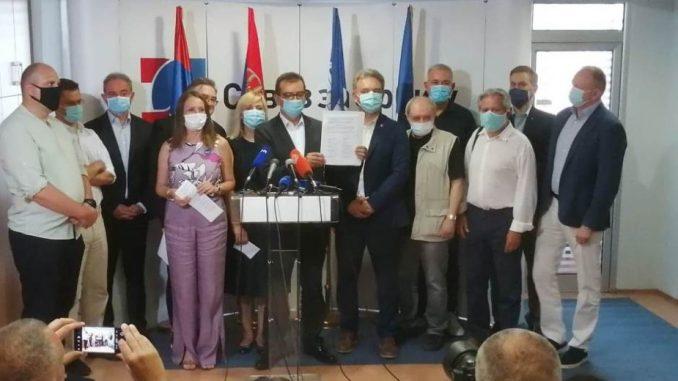Udružena opozicija Srbije: Vučićev režim odgovoran za skrivanje podataka o broju umrlih 1