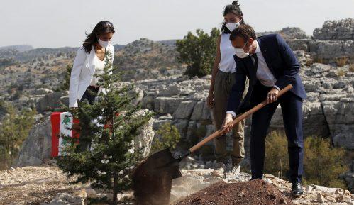 Makron posadio stablo kedra povodom stogodišnjice Libana 2