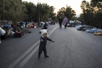 Malo ostalo od grčkog izbegličkog kampa Morija posle drugog požara 12