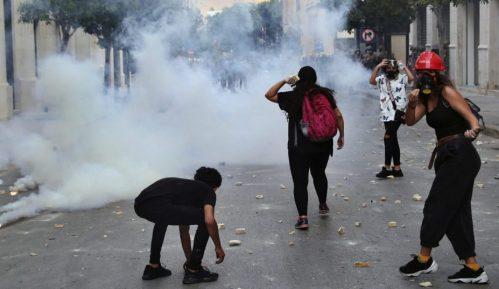U Bejrutu protest protiv saradnje Makrona sa libanskim zvaničnicima 1