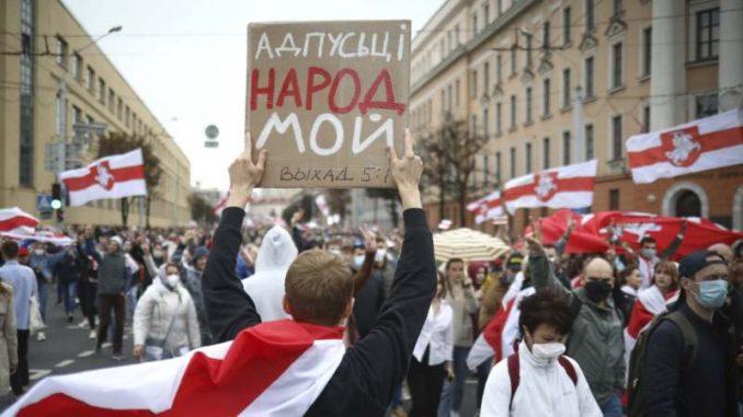 Oko 100.000 Belorusa protestovalo u Minsku, uhapšeno oko 200 4