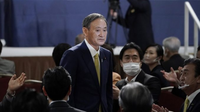 Jošihide Suga osigurao glasove vladajuće partije za novog japanskog premijera 1
