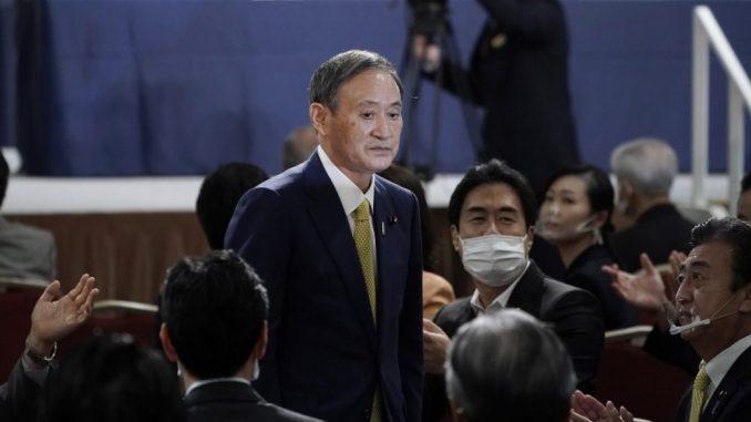 Jošihide Suga izabran za novog premijera Japana 1