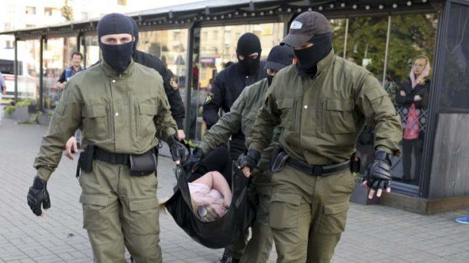 Desetine hiljada Belorusa na novom protestu u Minsku 2